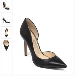 Black Jessica Simpson Claudette Pumps